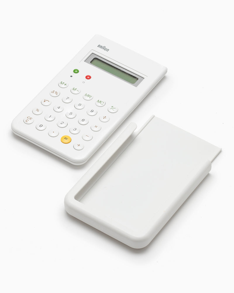 Braun Calculator - White
