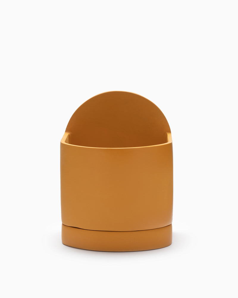 Capra Sol Planter- Golden