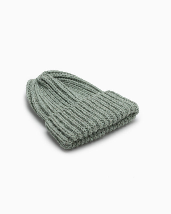 OFS. Chunky Knit Wool Hat - Sage