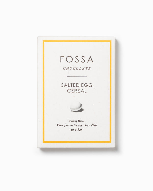 Salted Egg Cereal Blonde Chocolate - Fossa