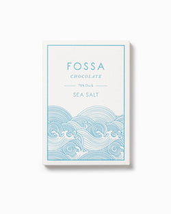 Sea Salt Dark Chocolate 70% - Fossa