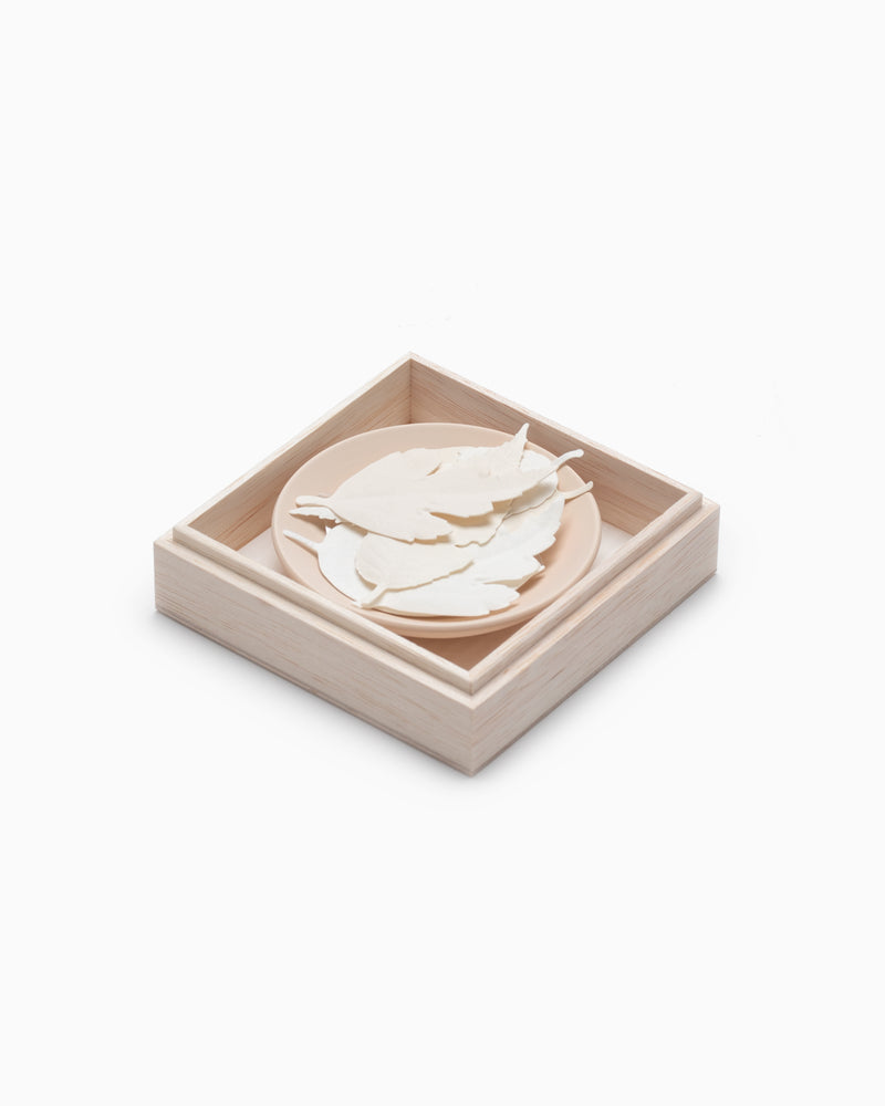 HA KO Paper Incense - Incense Mat and Dish Set