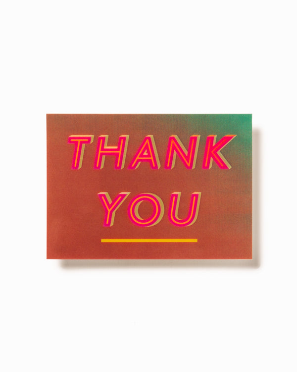 3D Postcard | Thank You - Hay