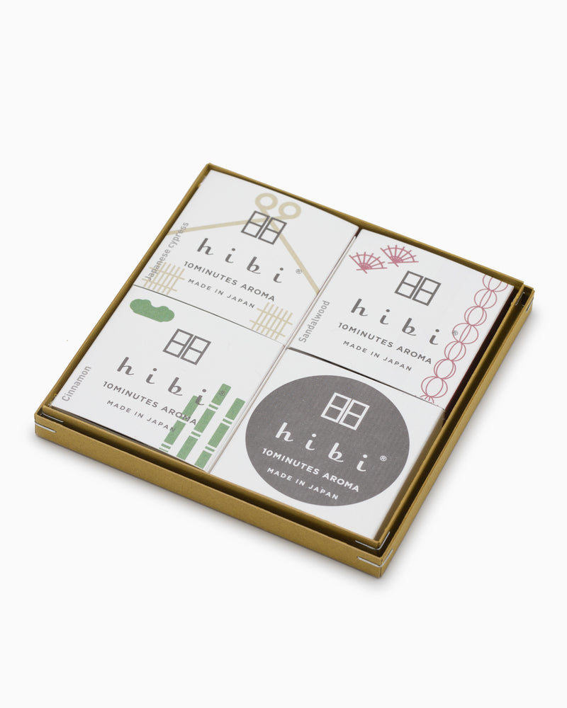 Hibi Incense - Japanese Fragrance Gift Box