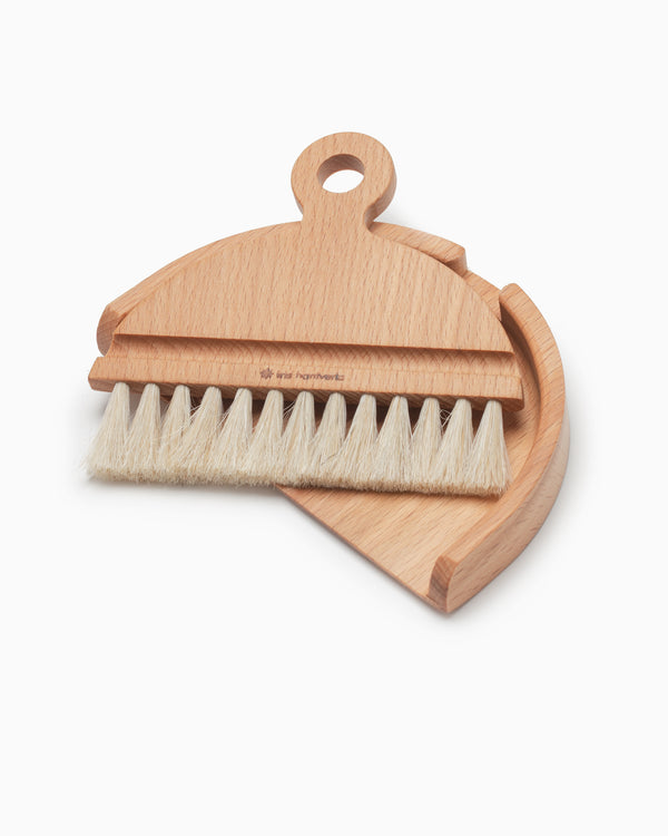 Table Brush and Dustpan Set- Iris Hantverk