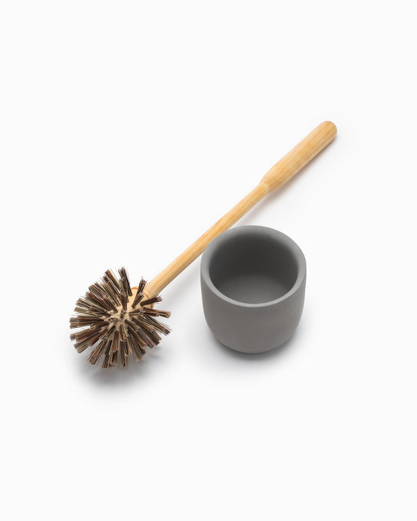 Concrete Toilet Brush Holder - Iris Hantverk