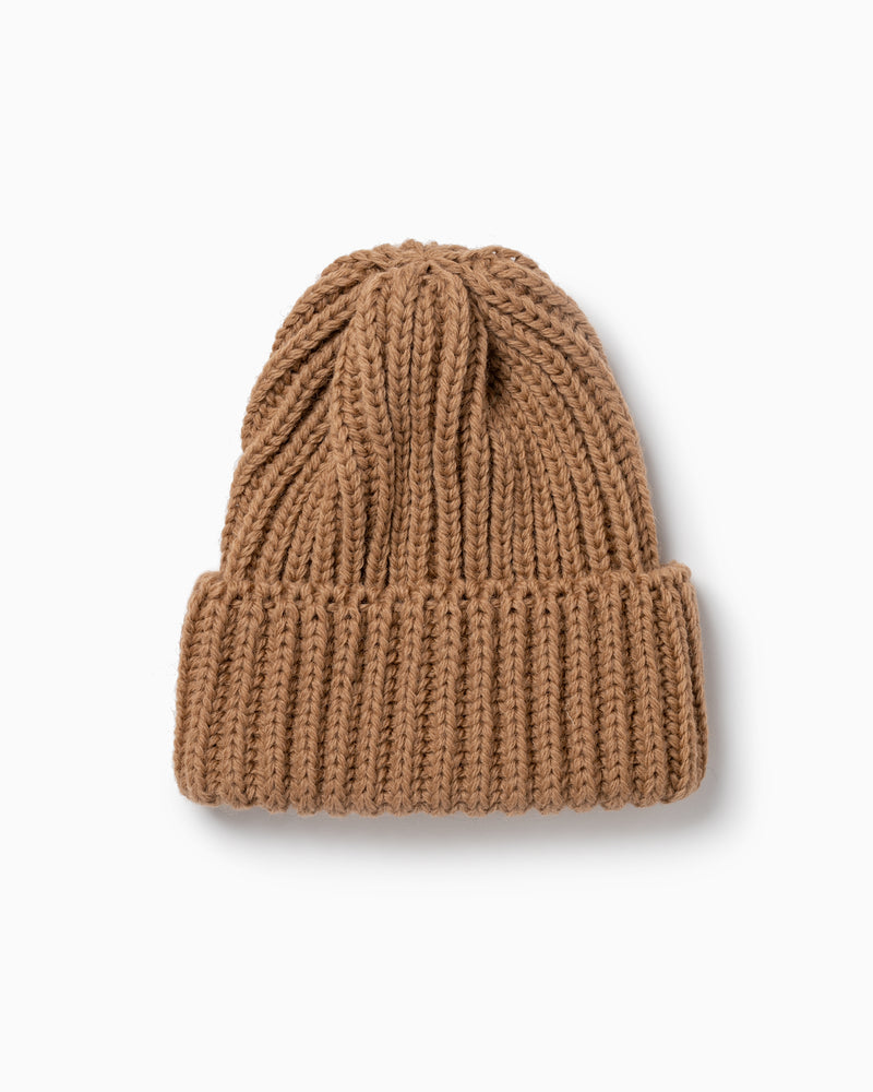 OFS. Chunky Knit Wool Hat - Brown