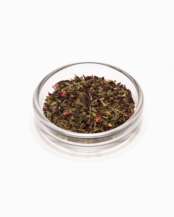 Rosella Mint 2oz Jar - Leaves & Flowers