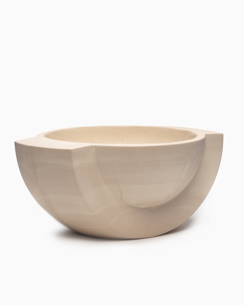 Saturn Ceramic Bowl Snow - L&L