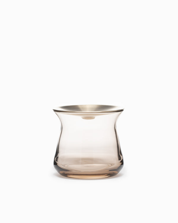 Small Luna Vase - Brown