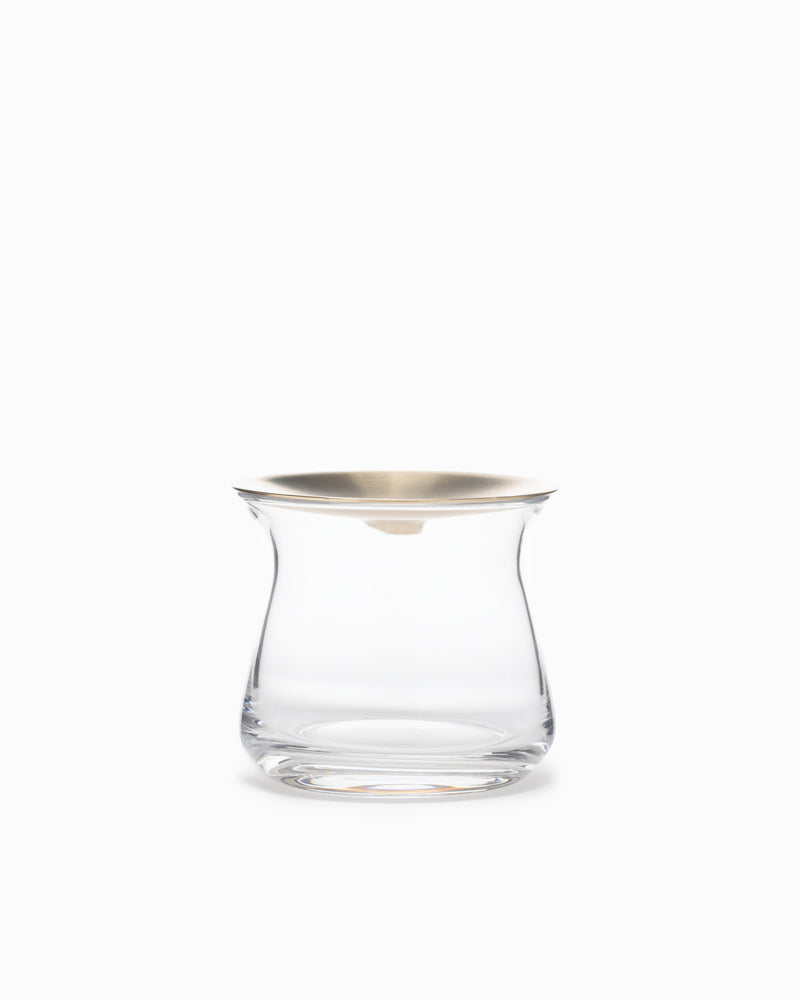 Small Luna Vase - Clear