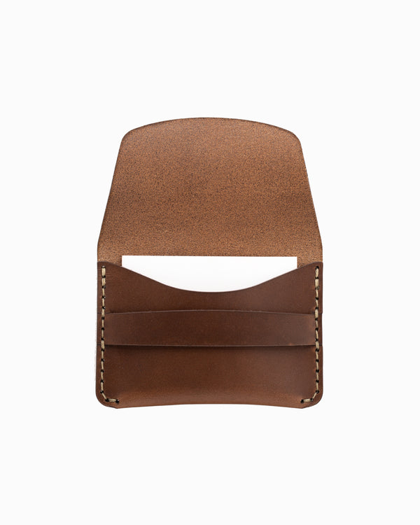 MAKR Flap Slim Wallet - Bark