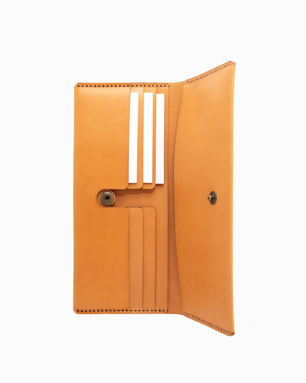 MAKR Open Long Wallet - Russet