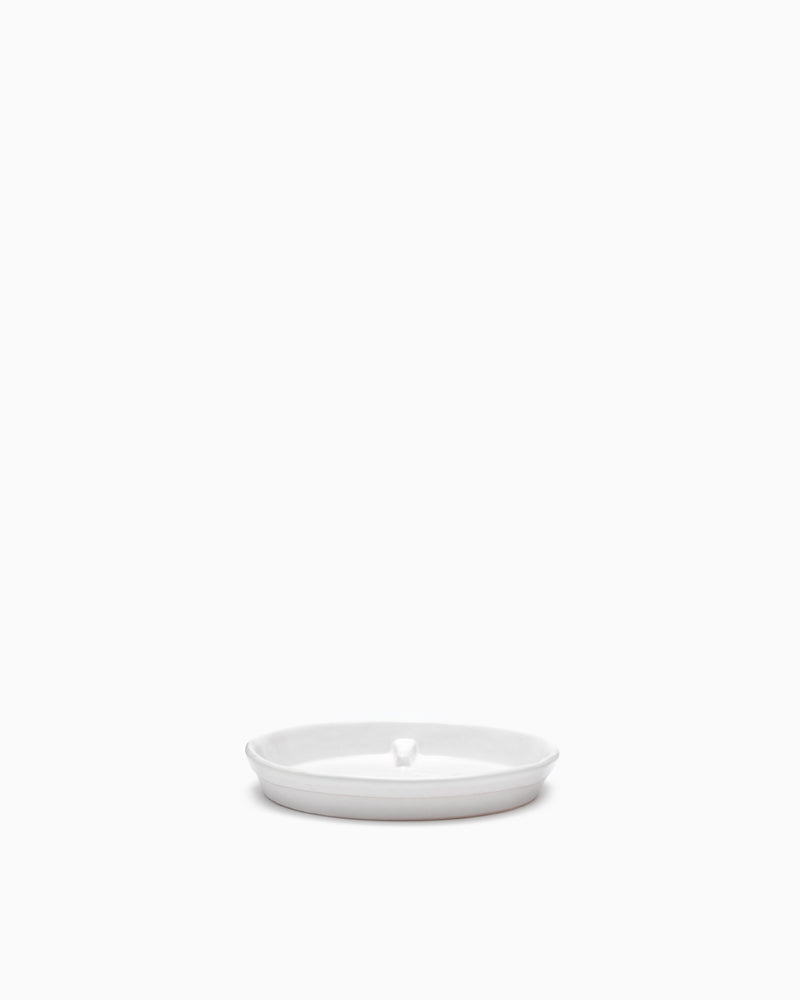 Small Saucer Matte White