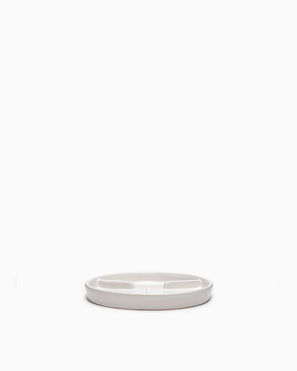 Medium Deep Saucer Matte White