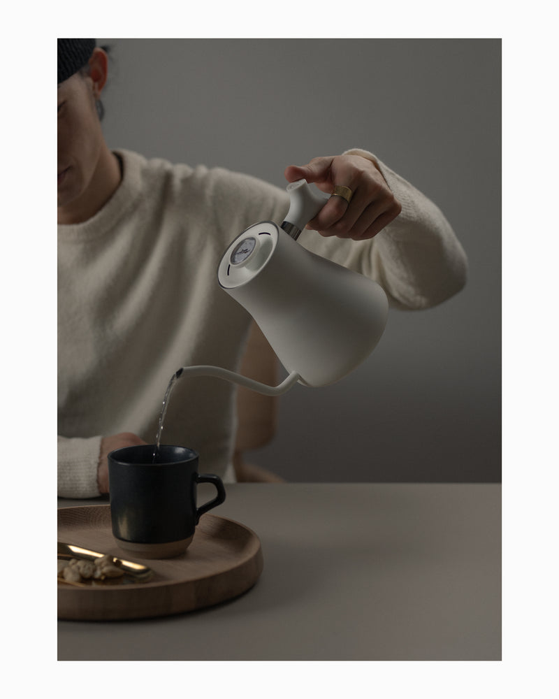 Fellow Pour-Over Kettle - Matte White
