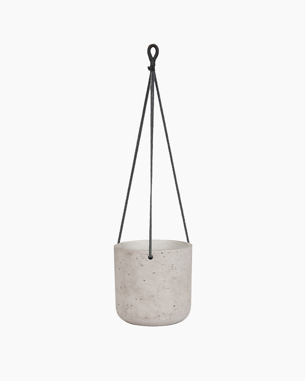 Medium Hanging Concrete Classic Planter