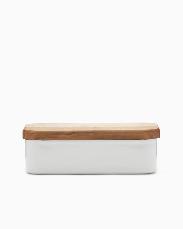 Small Enamel Butter Case - Noda Horo
