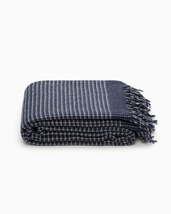 OFS. Cashmere Merino Throw - Alpine