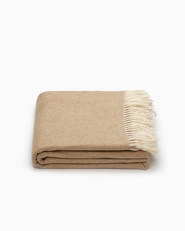OFS. Merino Lambswool XL Throw - Mead