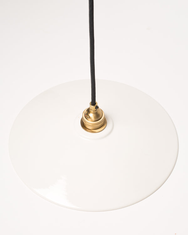 Ceramic Dish Shade - White