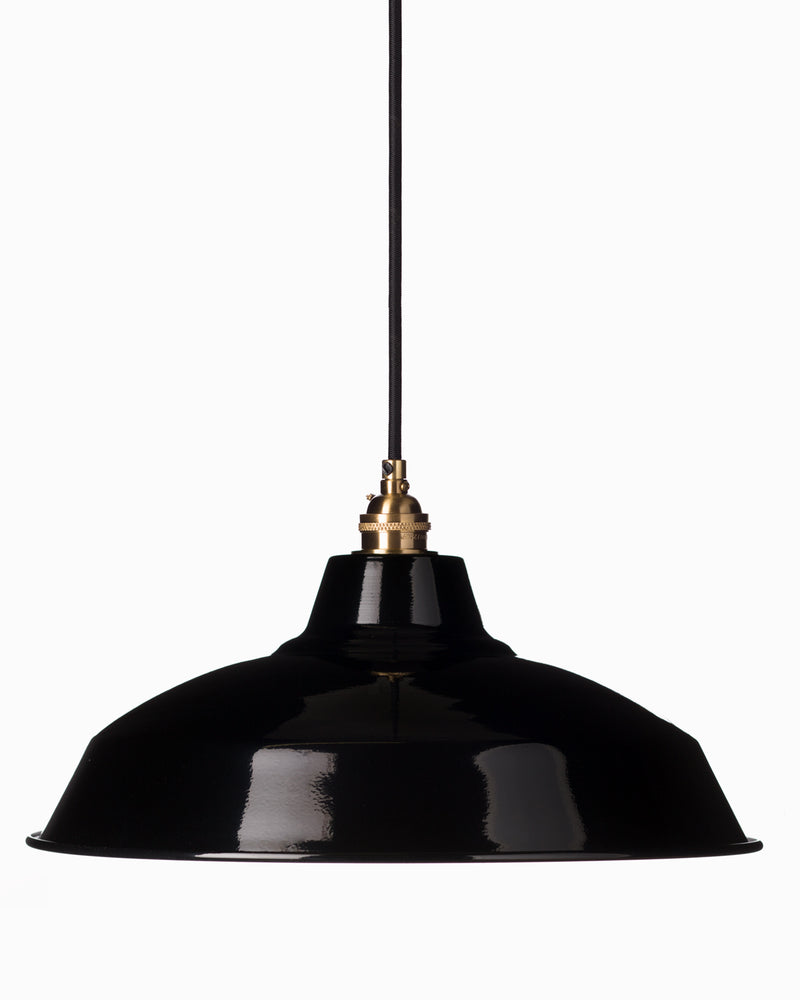Large Bistro Shade - Black