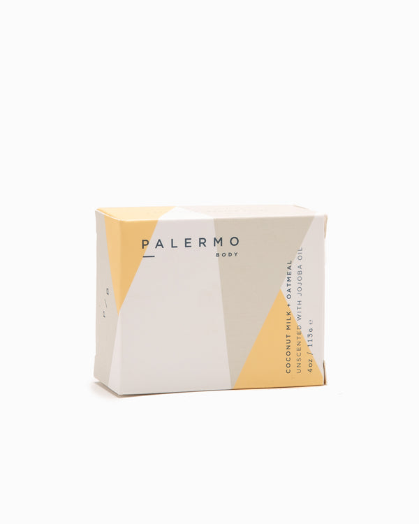 Coconut + Oatmeal Soap Bar - Palermo
