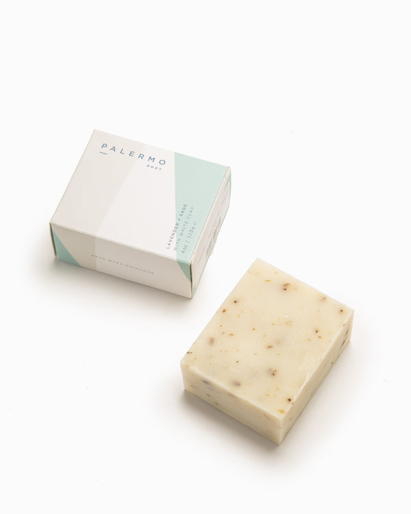 Lavender + Sage Soap Bar - Palermo