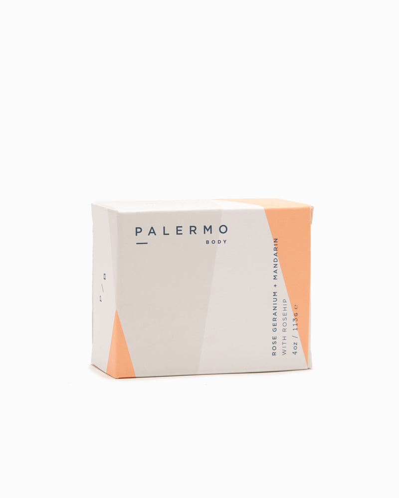Rose Geranium + Mandarin Soap Bar - Palermo