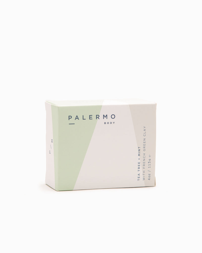 Tea Tree + Mint Soap Bar - Palermo