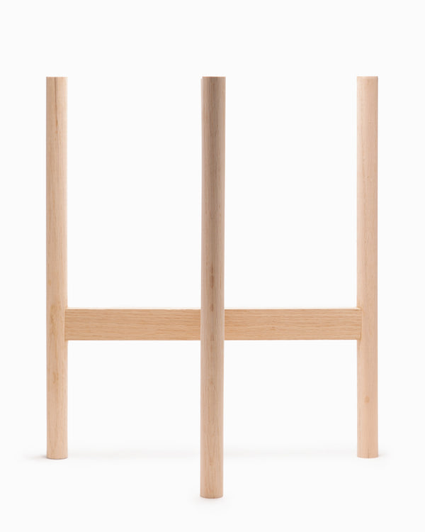 OFS. Oak Plant Stand - Extra Large