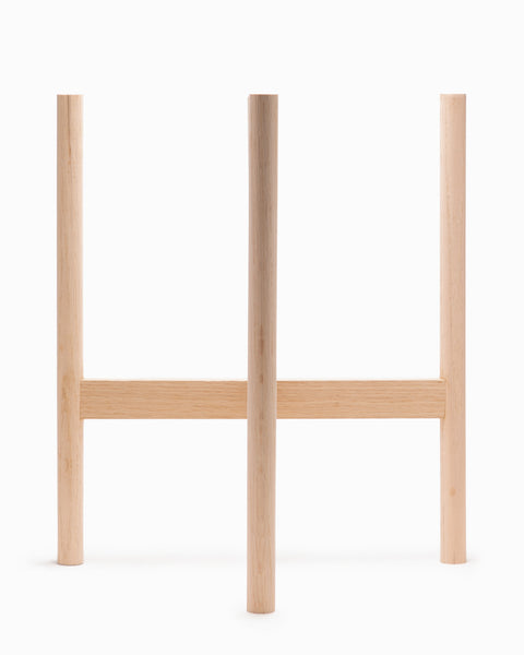 OFS  Oak Plant Stand - Large