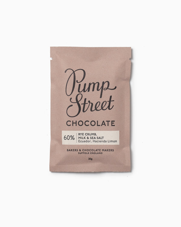 Mini Rye Crumb - Pump Street Chocolate