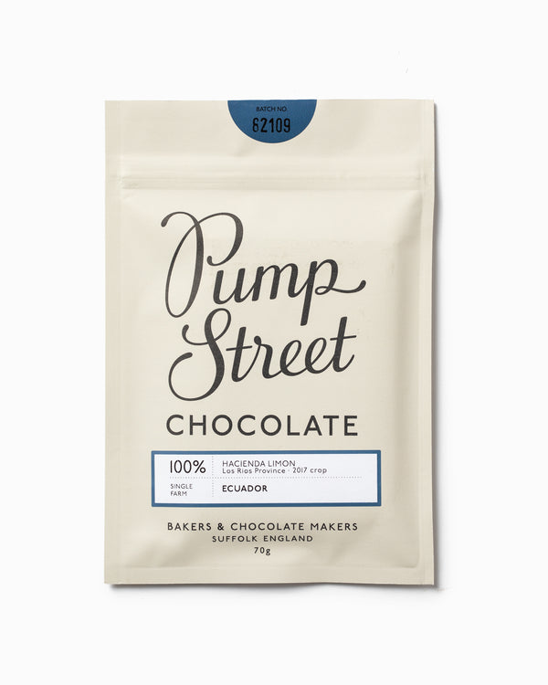 Hacienda Limon 100% - Pump Street Chocolate