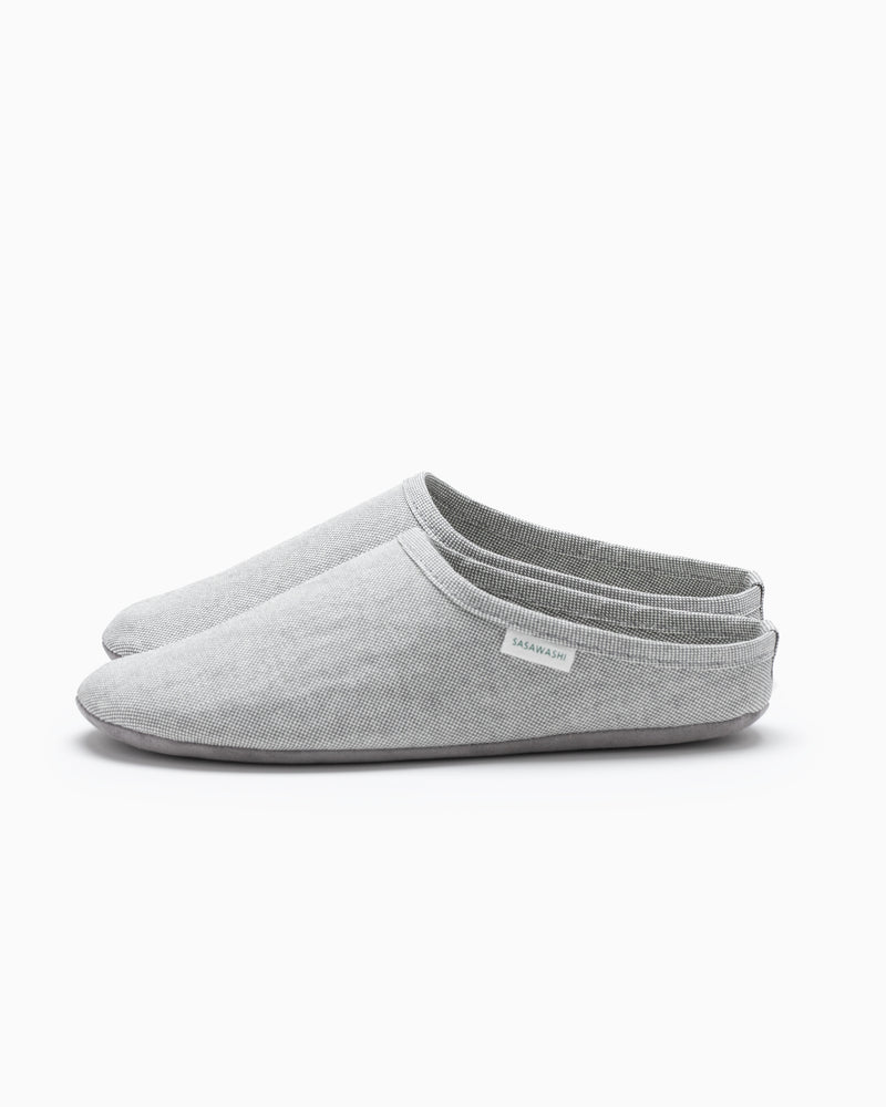 Sasawashi Room Shoes - Grey