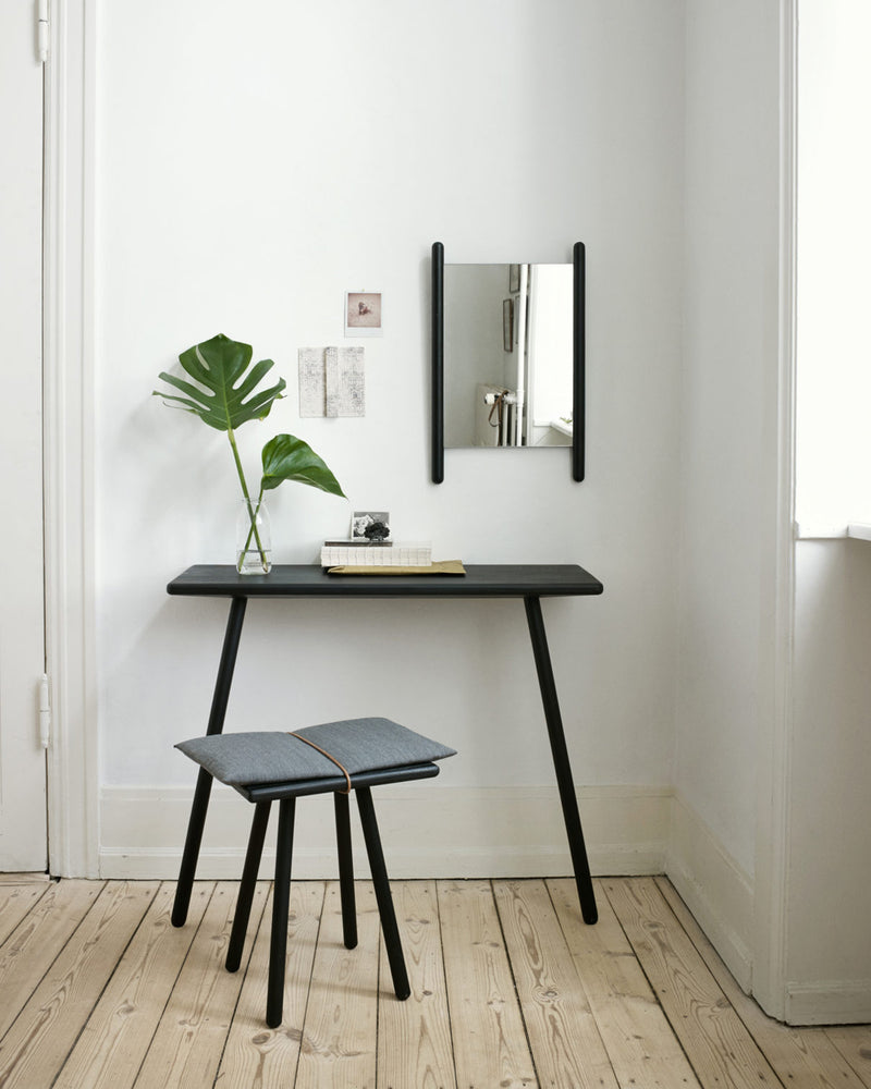 Georg Console Table - Black Oak