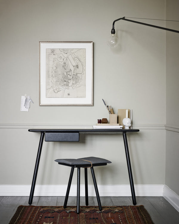 Georg Desk - Black Oak