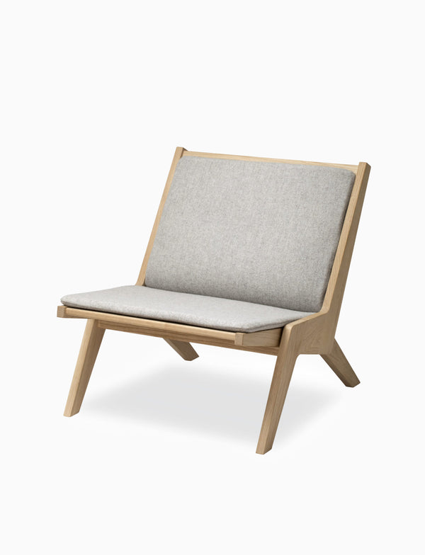 Miskito Lounge Chair - Oak