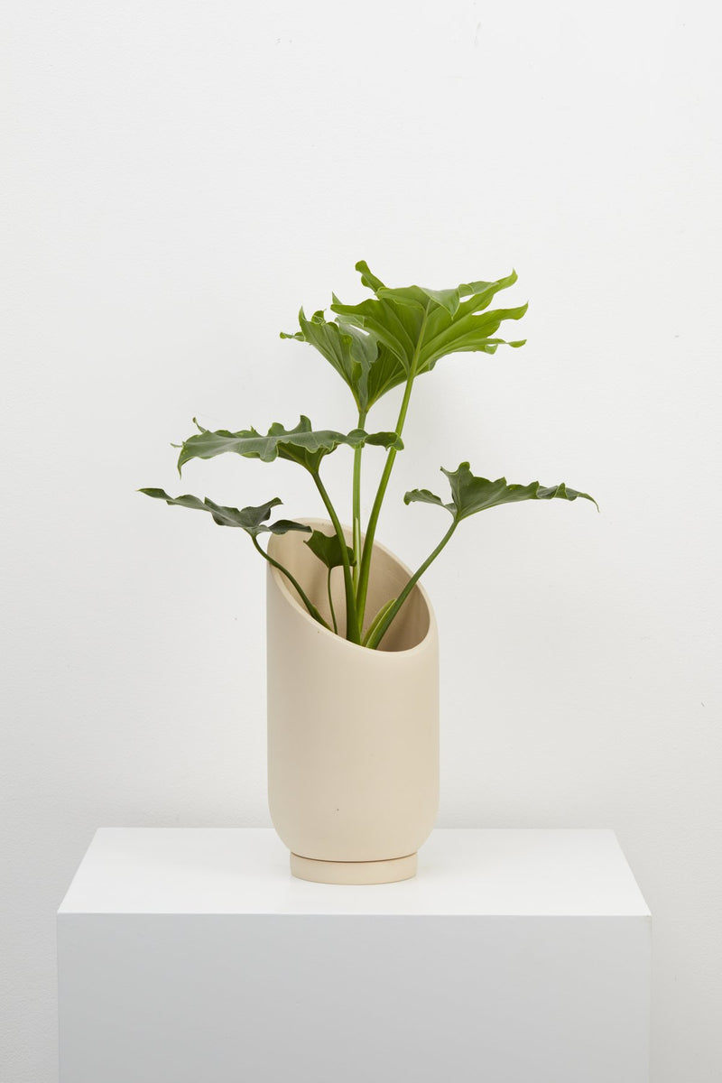 Capra Summit Planter Small - Fossil