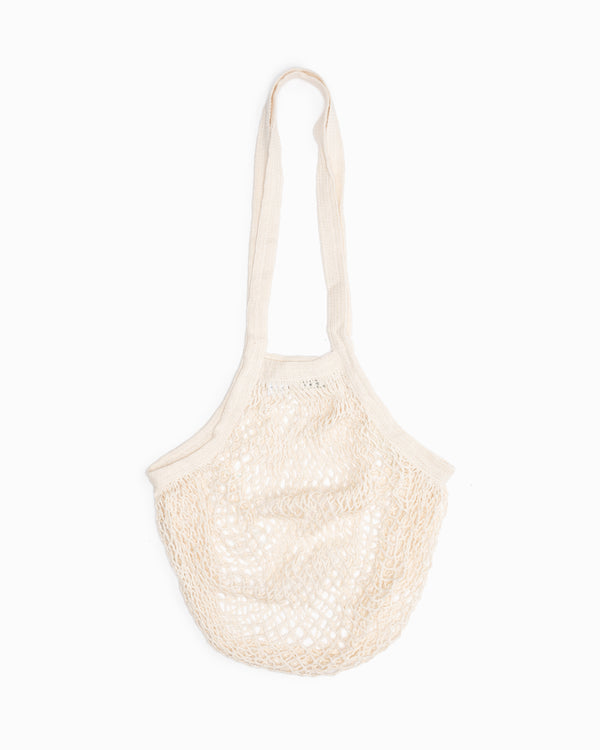 Long Handle String Bag - Natural