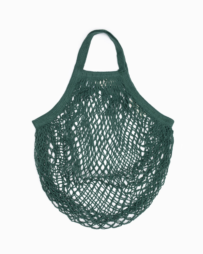 Short Handle String Bag - Green