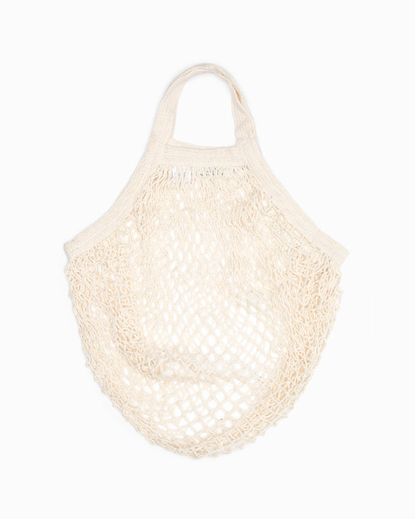 Short Handle String Bag - Natural