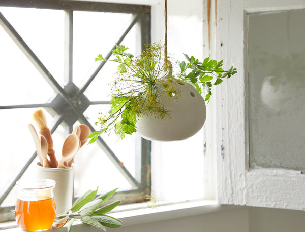Ceramic Hanging Flower Vase