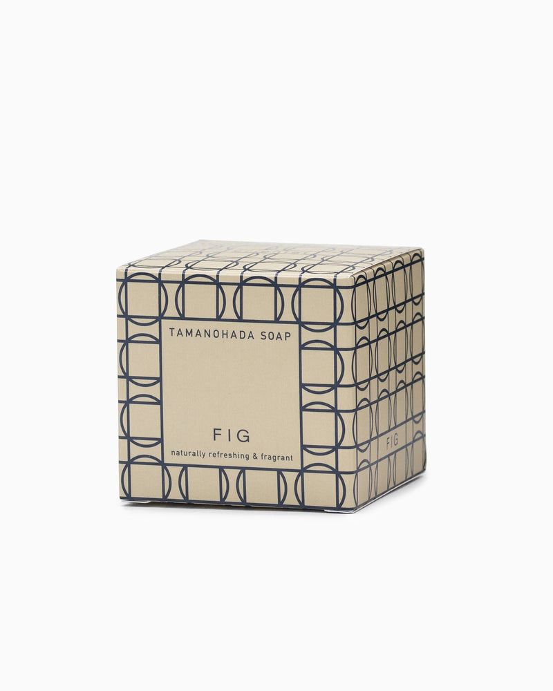Tamanohada Round Soap - Fig