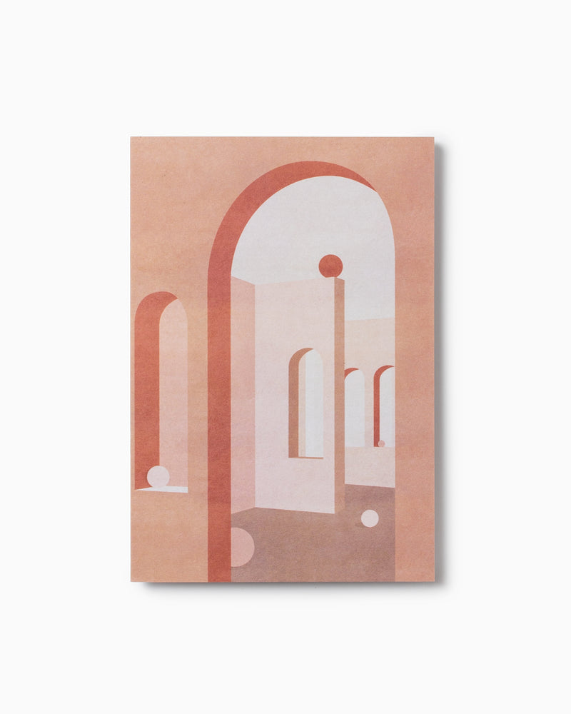 Terracotta Arches Greeting Card