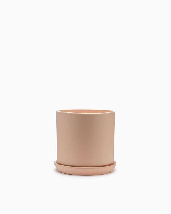 Small Terracotta Cylinder Pot