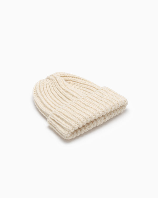 OFS. Chunky Knit Wool Hat - Aran