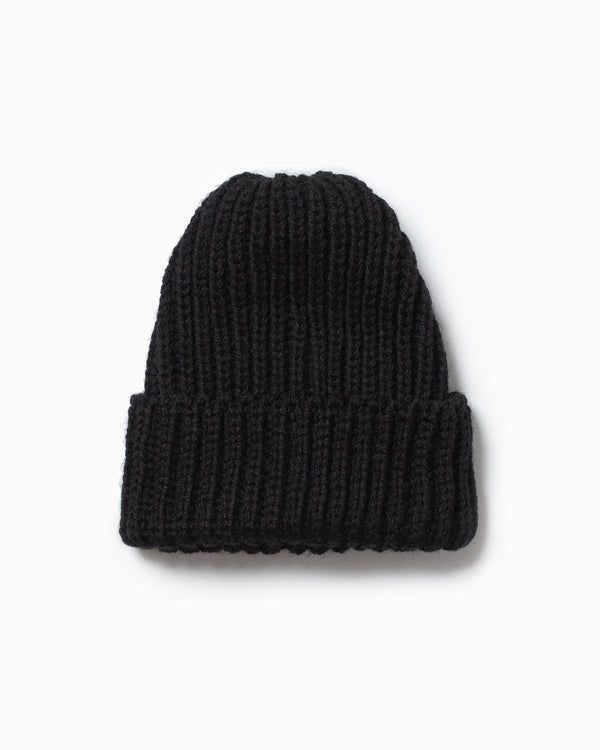 OFS. Chunky Knit Wool Hat - Black