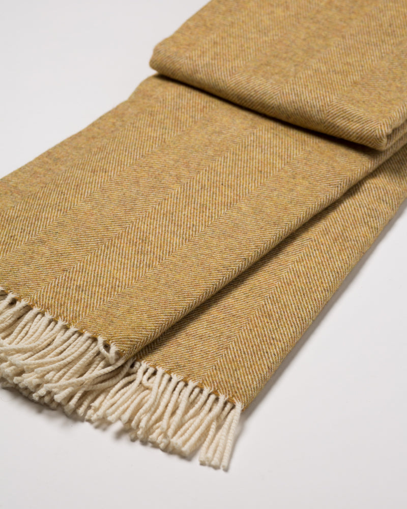 Supersoft Lambswool Throw - Mead