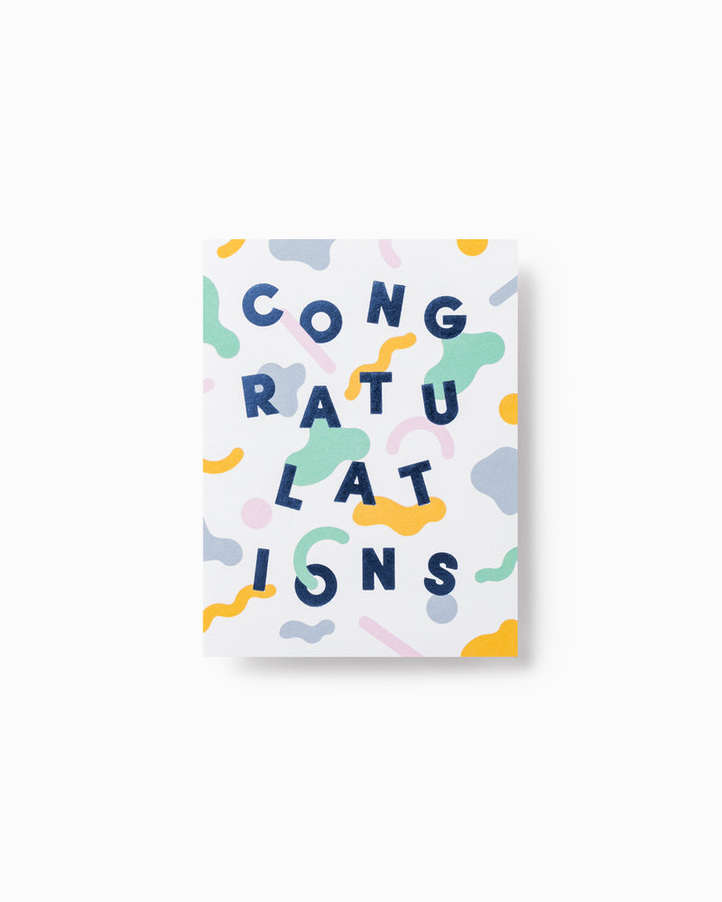 Mini Congratulations Greeting Card